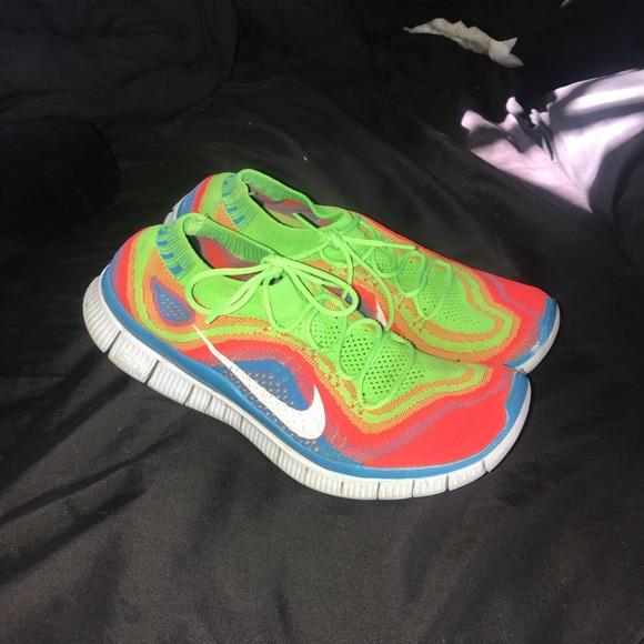 7bdb4783d104 Men s Nike Free Run Flyknit 1 Rainbow. M 5ac6301c45b30c996e92e172